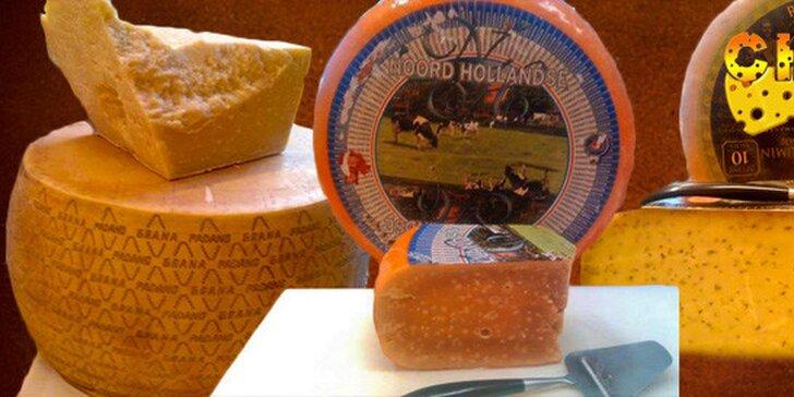 Holandské a italské vynikající sýry z Cheesy
