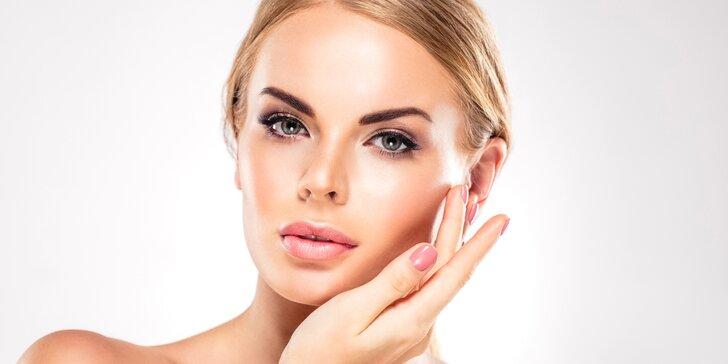 105 minut kosmetické péče pro dámy včetně mikromasáže očního okolí