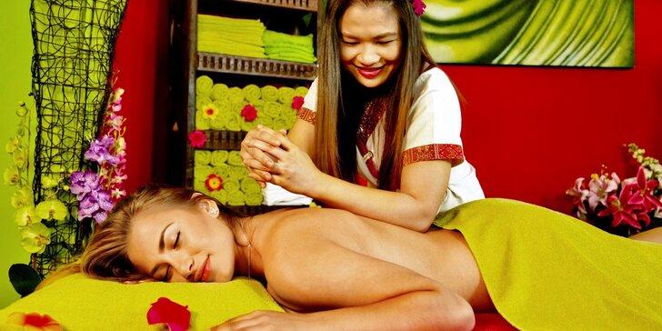 Zrelaxujte se v Thajském ráji: 60–90 minut relaxační masáže podle výběru
