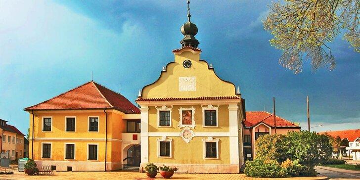 Pohoda v jižních Čechách s polopenzí, vínem a spoustou výletů