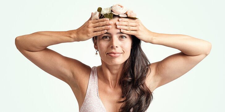 Vyzkoušejte obličejovou jógu: online kurz na 7 dní včetně bonusu