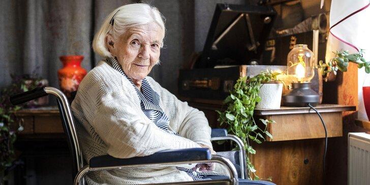 Podpořte organizaci Sue Ryder: trénink paměti a canisterapie i poradenství pro seniory
