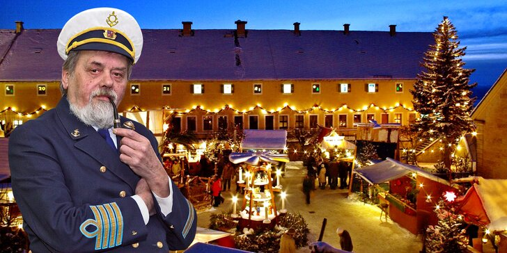 Adventní plavby do Königsteinu na vánoční trhy: oběd i perníčky