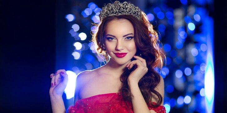 Nechte se hýčkat: den pro princeznu v salonu Elite v centru Prahy