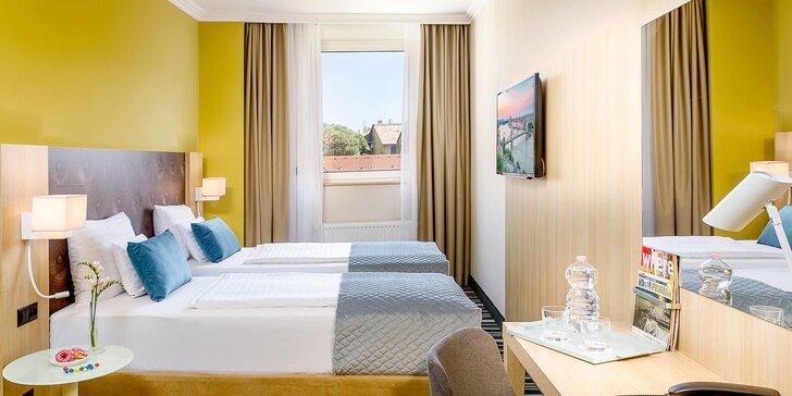 Za krásami Budapešti 4* hotel, snídaně, sauna i plavba po Dunaji