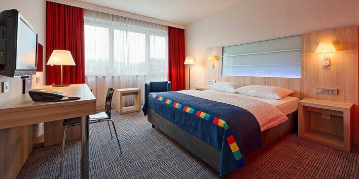 4* hotel Park Inn by Radisson Linz se snídaní: pár kroků za uměním i památkami