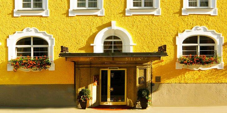 Nechte se okouzlit Salcburkem: stylový 4* Hotel Markus Sittikus se snídaní blízko centra města