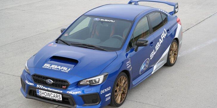 Jízda na Autodromu Brno se Subaru Impreza WRX STI: 2 nebo 4 kola
