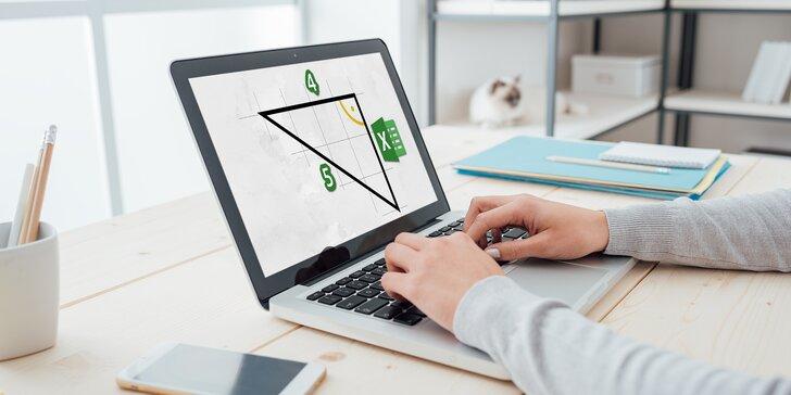 Expertem v Excelu snadno a rychle z pohodlí domova: balíček 4 praktických a zábavných online kurzů