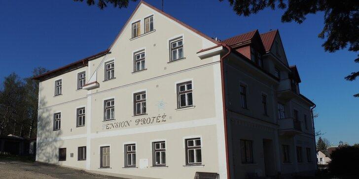 Lázně Libverda: Penzion ve Frýdlantském výběžku bez stravy, se snídaní i polopenzí