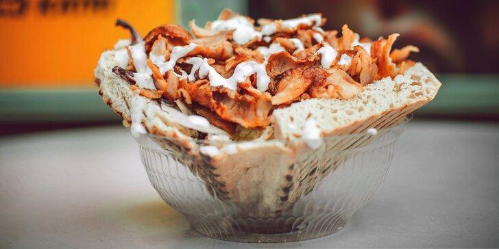 Jídlo s sebou: Chleba speciál, Tortilla Mega i velký talíř pro 1 i 2 osoby