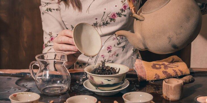 Naučte se vše o čaji: praktická příprava, kurz sommeliérství i čajový rituál