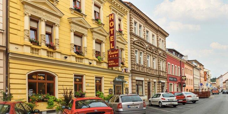 Za krásami Plzně: pěkný hotel v centru města i snídaně