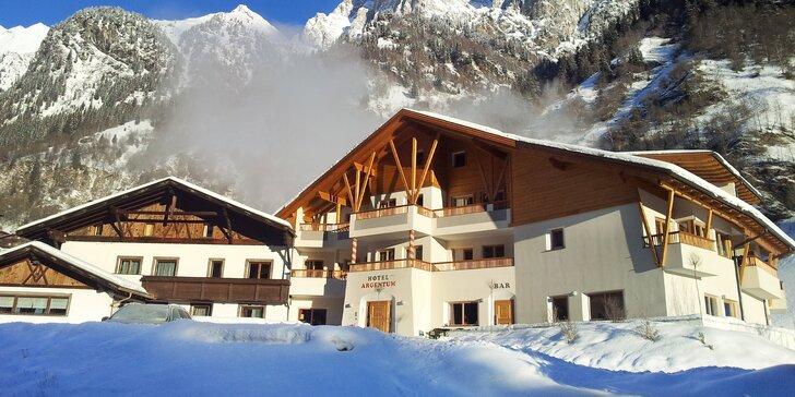 3* dovolená v italských Alpách: ubytování s polopenzí a volným vstupem do wellness