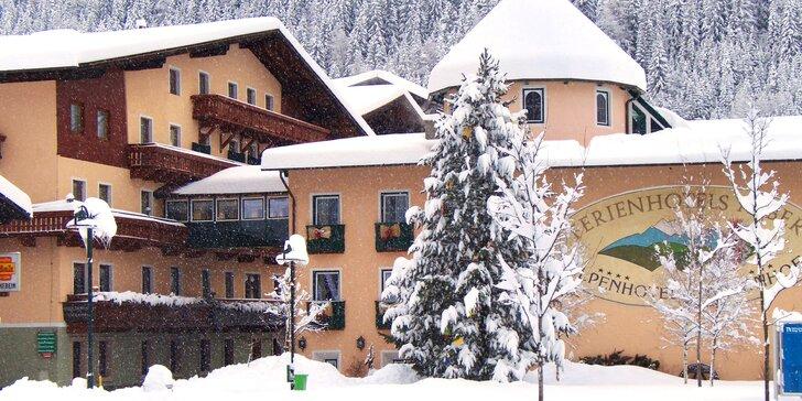 Aktivní dovolená v Korutanech: polopenze, neomezený wellness i lyžování