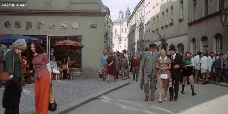 Po stopách seriálů a filmů Chalupáři, Vrchní, Prchni! a Dobrý voják Švejk (zakončeno v hospodě U Fleků)
