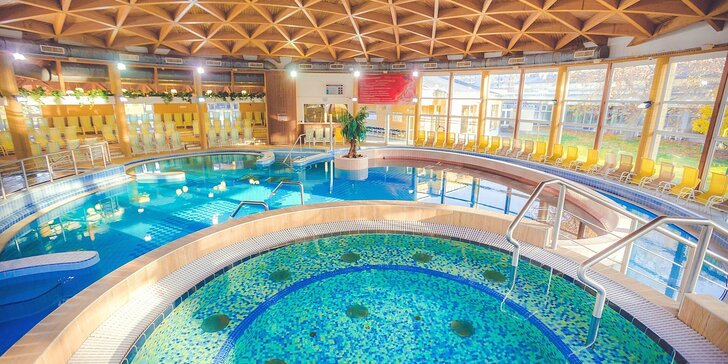 Relaxační dovolená v maďarském Bükfürdő: 4* hotel s polopenzí, neomezeným wellness i vstupy do lázní