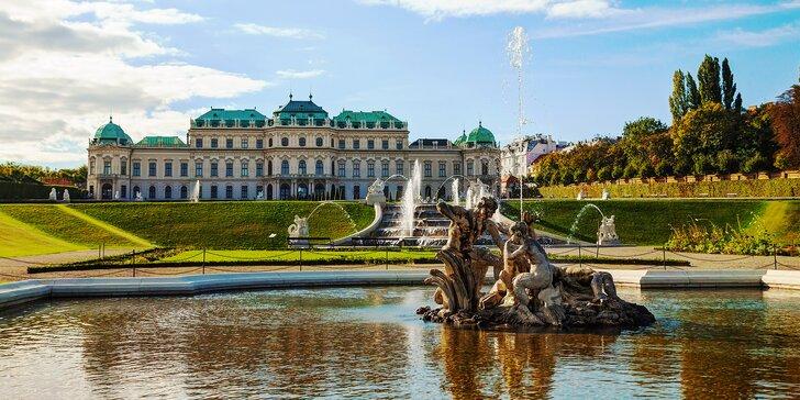 Až osmidenní pobyt v centru Vídně: bufetové snídaně a památky