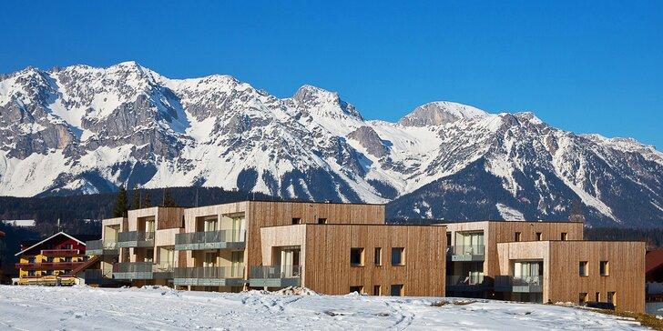 Zimní dovolená v rakouském Schladmingu: apartmány až pro 4 osoby a wellness