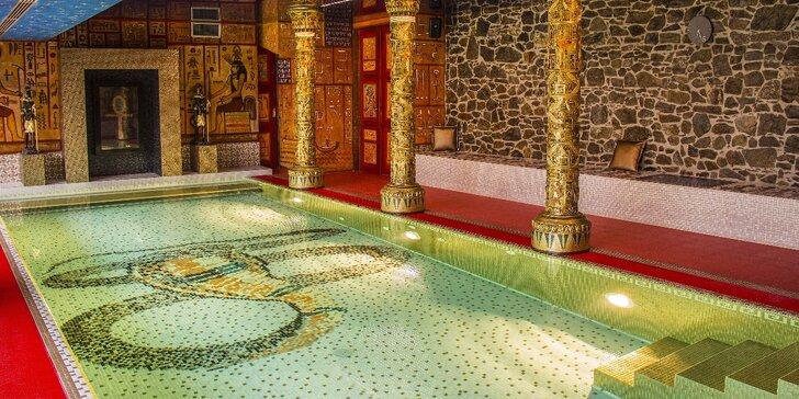 120 min. relaxace pro 2 osoby: Antické lázně nebo Skalní chrám