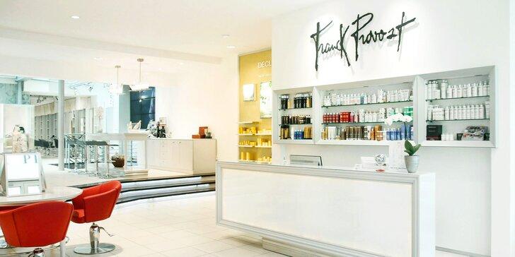Kadeřnická péče v salonu Franck Provost: foukaná, střih i barvení pro všechny délky vlasů