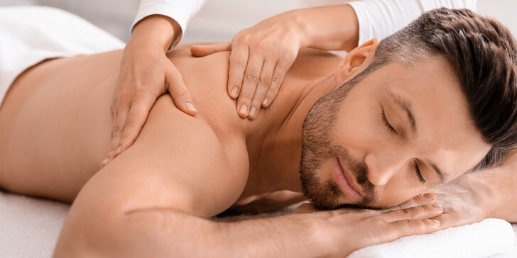 Relaxační balíček pro pány: infrasauna, masáž zad a dolních končetin, nealko pivo