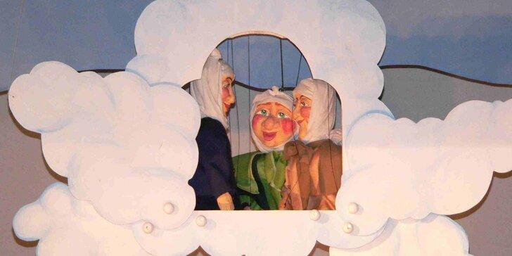 Divadlo Říše Loutek uvádí loutkové představení Tři zlaté vlasy děda Vševěda