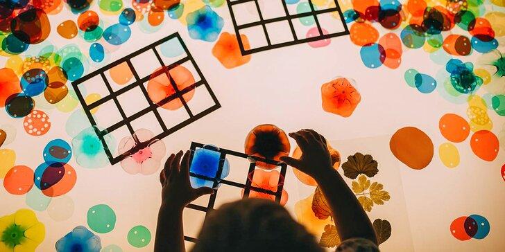 Vstupenky pro děti i dospělé do muzea interaktivní zábavy v Hronově