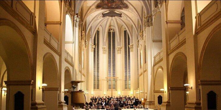 Vstupenka na exkluzivní Vánoční koncert v kostele u Salvátora