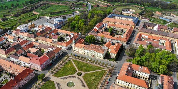České středohoří i památky Terezína: ubytování i s jídlem přímo ve městě