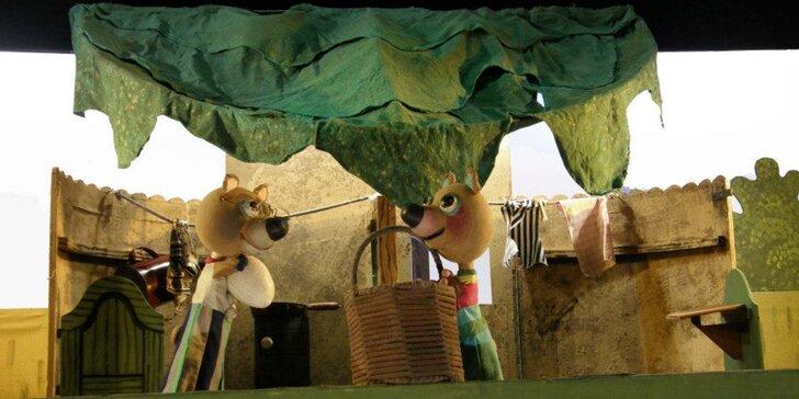 Divadlo Říše Loutek uvádí loutkové představení Medvídek Ťupínek