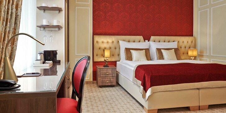 5* pobyt na Karlovarsku: elegantní hotel v zeleni, krásná restaurace i wellness
