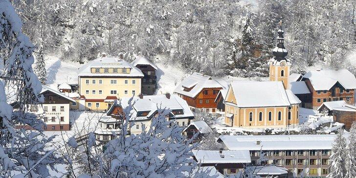 Zimní dovolená v rakouských Korutanech: ubytování se snídaní a sto kilometrů sjezdovek