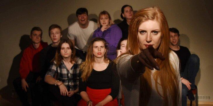 Herecká ochutnávka: vstupenka na herecký minikurz