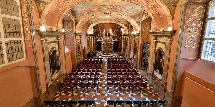 Vstupenka na listopadové Gala Vivaldi v Zrcadlové kapli Klementina