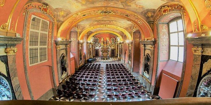 Vstupenka na sváteční gala koncert v Zrcadlové kapli Klementina
