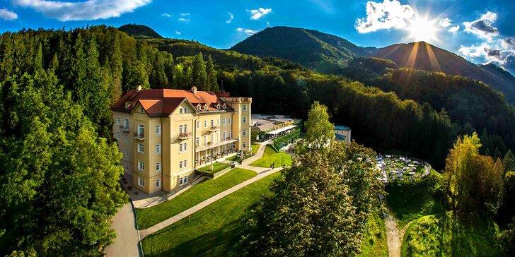 Blahodárný pobyt v lázních: hotel s polopenzí a neomezeným wellness