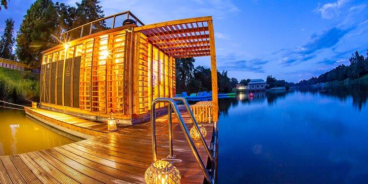 Říční finská sauna na Orlici: 60 nebo 90 minut relaxace v obklopení přírody