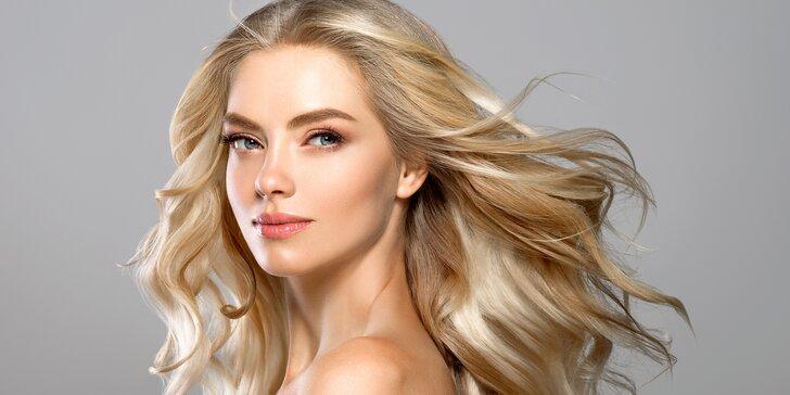 Kadeřnické balíčky pro všechny délky vlasů: mytí, maska a střih i melír