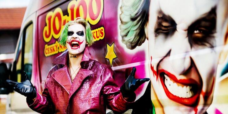 Cirkus plný superhrdinů: vstupenky na akční cirkusový program pro děti i dospělé