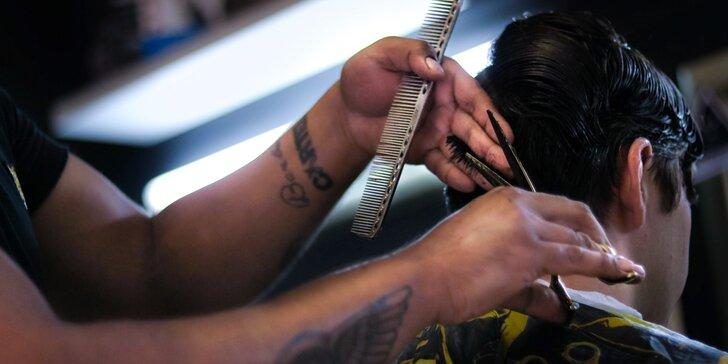 Pro pány: Střih strojkem nebo i nůžkami vč. mytí a masáže hlavy