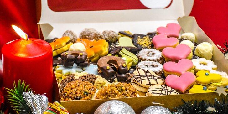 Vánoční cukroví ze Šiklova mlýna: krémové, marmeládové i neplněné a k 1 kg vstupenka do Šiklandu