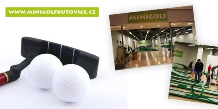 Jen 49 Kč za 90 minut minigolfu v hodnotě 119 Kč. Minigolf za každého počasí v nákupním centru Galerie Nové Butovice. Zábava bez rozdílu věku se slevou 58 %.