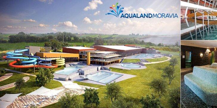 Celý den v Aqualandu Moravia - nejmodernějším zábavním centru v ČR