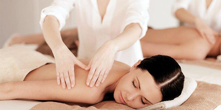 Valentýnská párová masáž