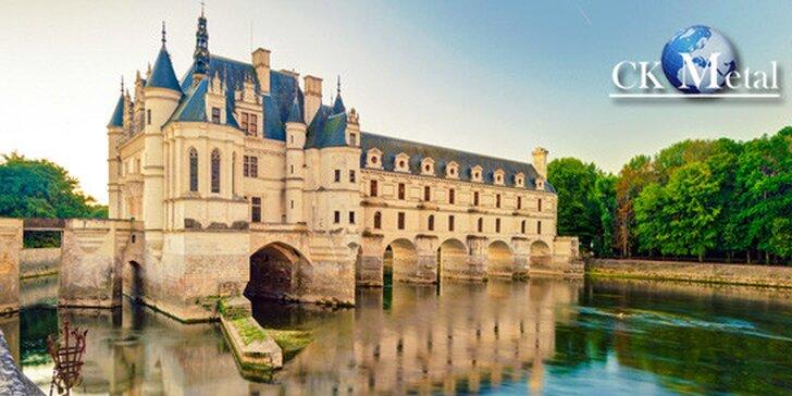Romantická Paříž a zámky na Loiře pro 1 osobu