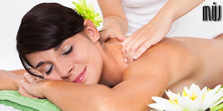 relaxační masáž tvář