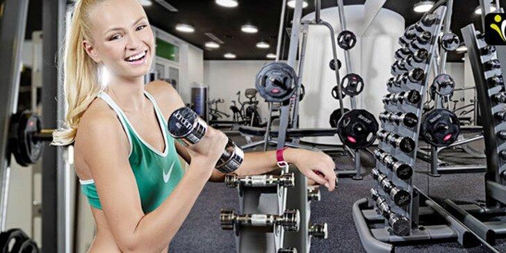 Vstup do špičkového fitness na neomezenou dobu