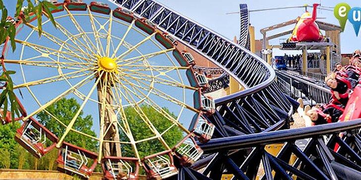 Jarní víkend v zábavním Heide parku v Německu