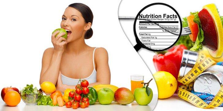 Akreditovaný rekvalifikační kurz Výživový poradce